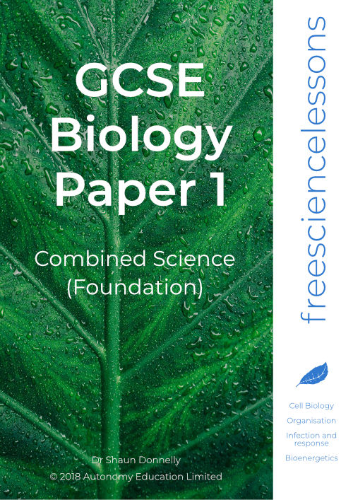 Biology Paper 1 Combined Science Foundation
